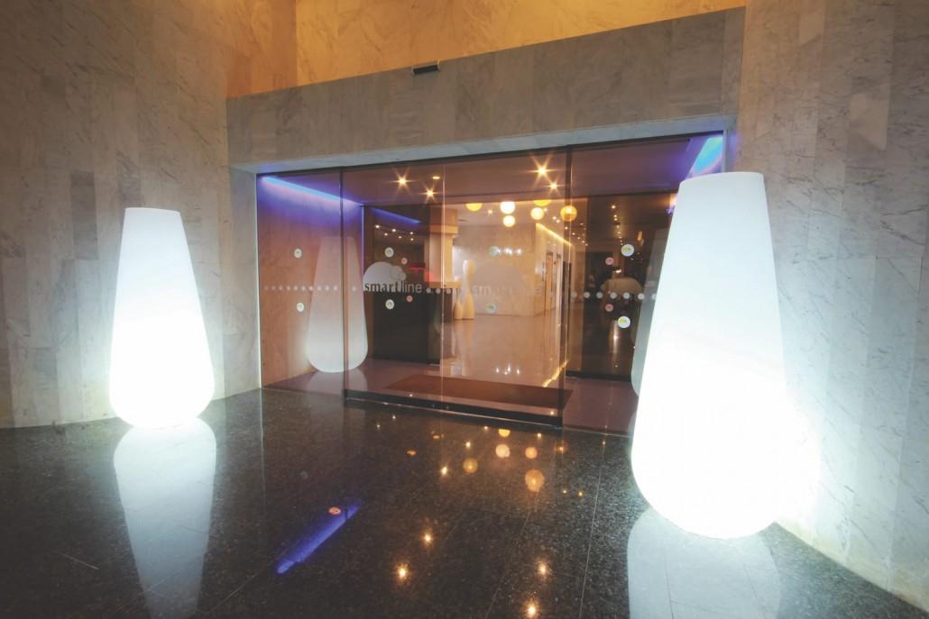 exterior entrance reception