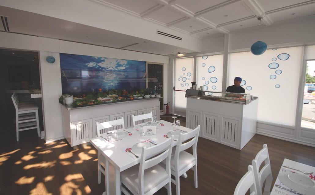 salad bar sushi corner