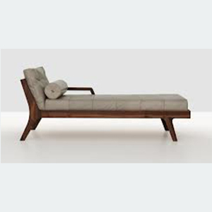 H. A klismos chaise long, the latest addition to your living room.