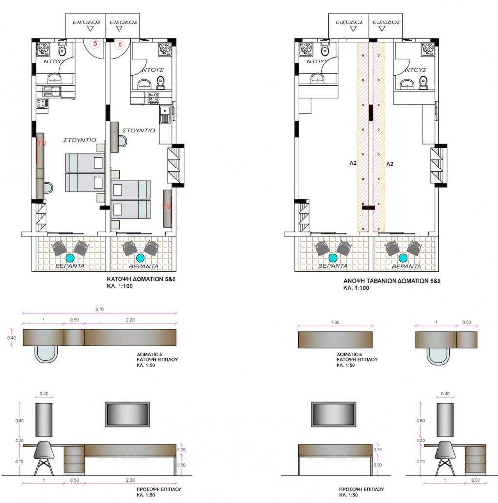 hotel-room-option1-furniture&ceilingviews